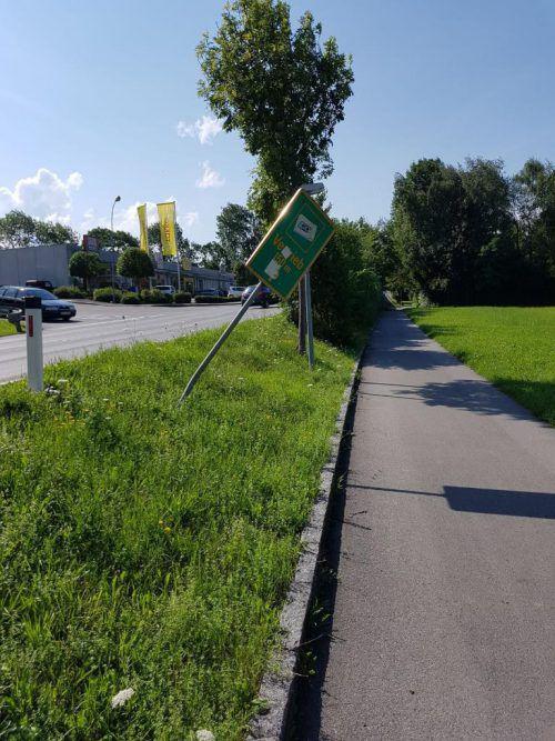 Die Stadtpolizei informierte den Besitzer. Foto:BüFo