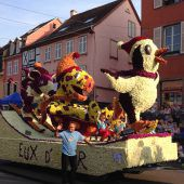 Blumencorso in Dornbirns Partnerstadt