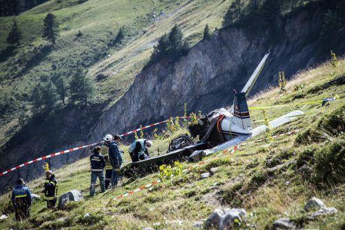 Die Ursache des Unglücks war zunächst unbekannt.  Foto:AP