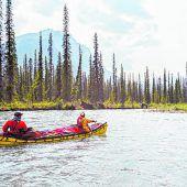 Rafting im Yukon River