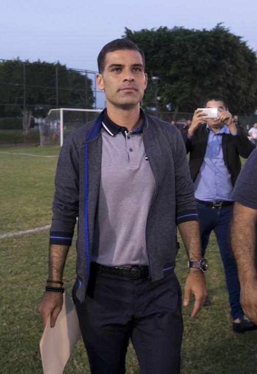 Ex-Barça-Spieler Rafael Marquez bestreitet die Vorwürfe.AFP