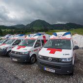 Neue Fahrzeuge für Rotes Kreuz zugesichert