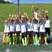 Ein Fußballfest für Nachwuchskicker