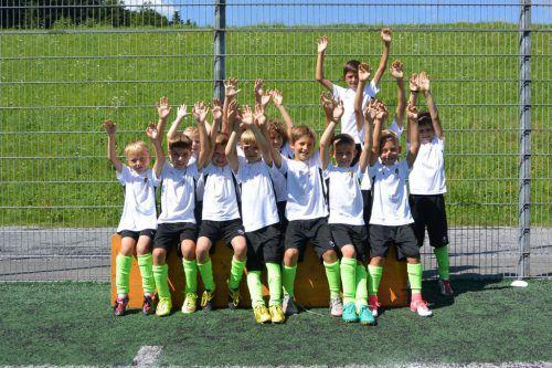 Fast 60 Kinder folgten dem Aufruf des FC Andelsbuch zur Teilnahme an einem Fußballcamp.