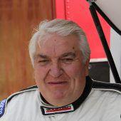 Hans Fink trotz seines Alters nicht zu bremsen