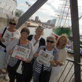 Da schau her! Fünf Mädels in Hamburg