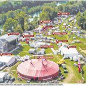 Hochsommerlicher Festivalauftakt