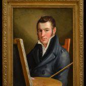 """<p class=""""caption"""">Franz Martin Drexel war auch als Maler erfolgreich. Foto: DC</p>"""