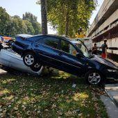Kurioser Einparkfehler mit großen Folgen