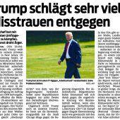 Trumps dubiose Alleingänge