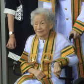 Hochschul- Abschluss mit 91 Jahren