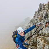 Mit Kind am Klettersteig unterwegs