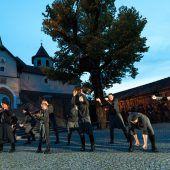 Jägerstätter, das Stück über den Kriegsdienstverweigerer, wird vor der Basilika aufgeführt