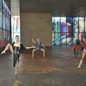 Toller Tanz in der KUB-Ausstellung