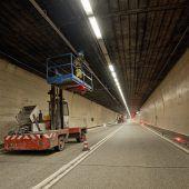 Freie Fahrt durch Arlbergtunnel