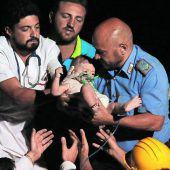 Wunder nach Erdbeben auf Ischia: Helfer retten drei Kinder