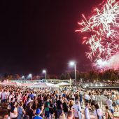 Bregenzer Hafenfest mit Feuerwerk