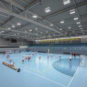 Bestes Licht für Handballprofis