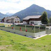 Neue Sportarena in Thüringerberg