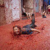 Größte Tomatenschlacht der Welt