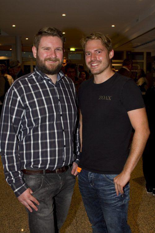 Filmschaffende: Stefan Sauer (l.) und Florian Haid.