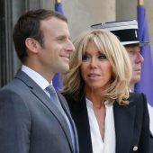Brigitte Macron bekommt nun offizielle Rolle
