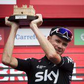 Froome baute Vorsprung bei Vuelta aus