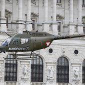 Doskozil will Hubschrauber aus Österreich