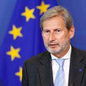 Hahn fordert Konsequenzen gegen Erdogan