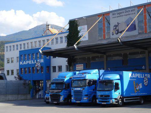Gebrüder Weiss übernimmt die Kapeller Internationale Spedition GmbH mit zwei Standorten in Innsbruck und Wörgl.Foto: GW