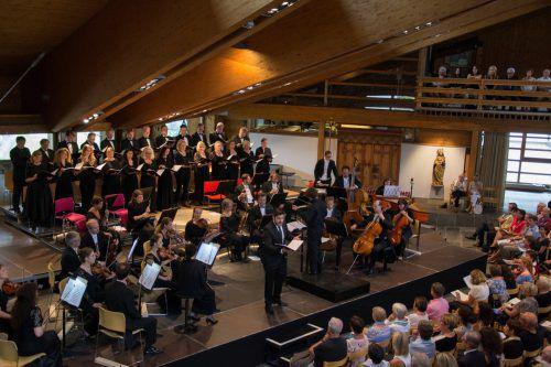 """Gestern Abend standen beim Lech-Classic-Festival """"Berühmte Opernchöre"""" auf dem Programm. Foto: LZT"""