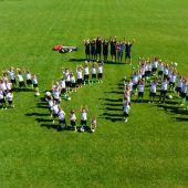 """<p class=""""caption"""">Große Begeisterung herrschte beim Nachwuchsfußballcamp im Bezeggstaion. Fotos: siha</p>"""