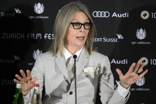 Hält sich selbst nicht für den Typ für langfristige Beziehungen: Schauspielerin und Oscar-Preisträgerin Diane Keaton. Foto: AP