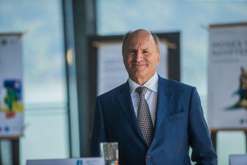 Hans-Peter Metzler vertritt den Mehrheitsaktionär ams bei Osram. VN/Steurer