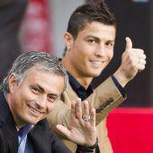 Wiedersehen von Mourinho mit Ronaldo