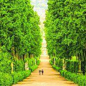 Eindrucksvoller Boboli-Garten