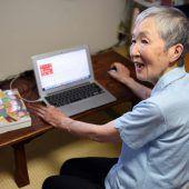 82-Jährige sorgt mit iPhone-App für Furore