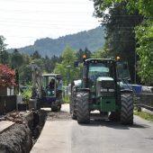 Bauarbeiten in Brunnenfeld gestartet