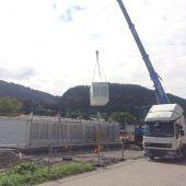 31 Container werden Kindergarten