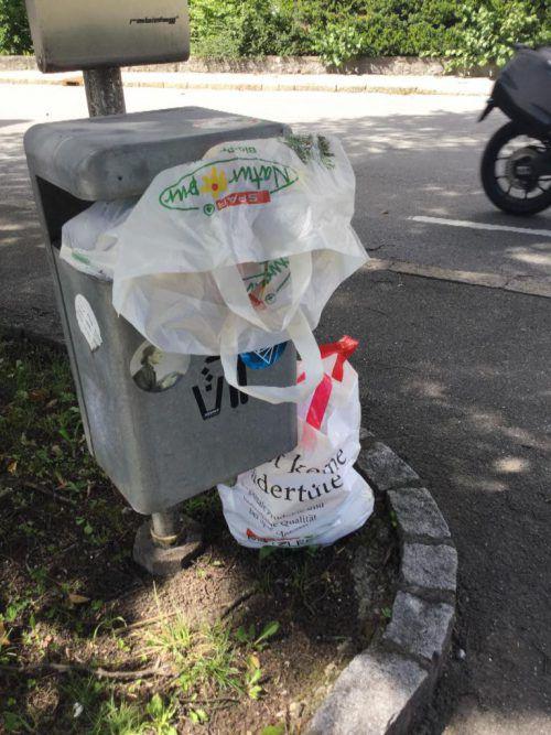 In der Hummelbergstraße wird immer wieder illegal Müll abgelagert.