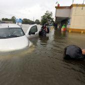 Sturm Harvey macht sich nach Louisiana auf