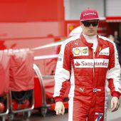 Räikkönen trägt 2018 weiter rot