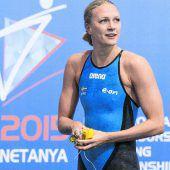 Sarah Sjöström schwamm schon wieder schneller