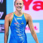 Sarah Sjöström mit Weltrekord über 100 Meter
