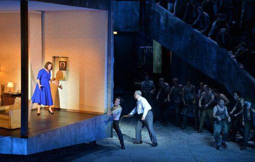 """""""Lady Macbeth von Mzensk"""": Nach dem Geschlechtsakt folgt die Auspeitschung. Foto: APA"""