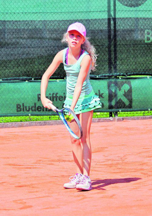 Laura Fuchs vom TC Haselstauden musste sich im Halbfinale in drei Sätzen geschlagen geben.Fotos: veranstalter