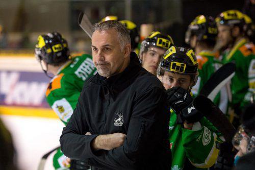 Lustenau-Coach Gerald Ressmann sah einen Erfolg seiner Schützlinge im ersten Test.Foto: Stiplovsek
