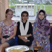 Erster interkultureller Mädchentreff im Wald