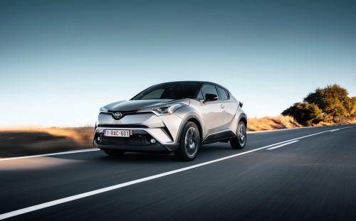 Mit dem CH-R wächst Toyota in Vorarlberg stark. Alleine in den ersten sechs Monaten des Jahres liegt das Zulassungsplus bei 42 Prozent.