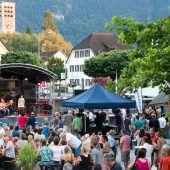 Die Stadt groovt beim 3. Bludenzer Jazzfestival